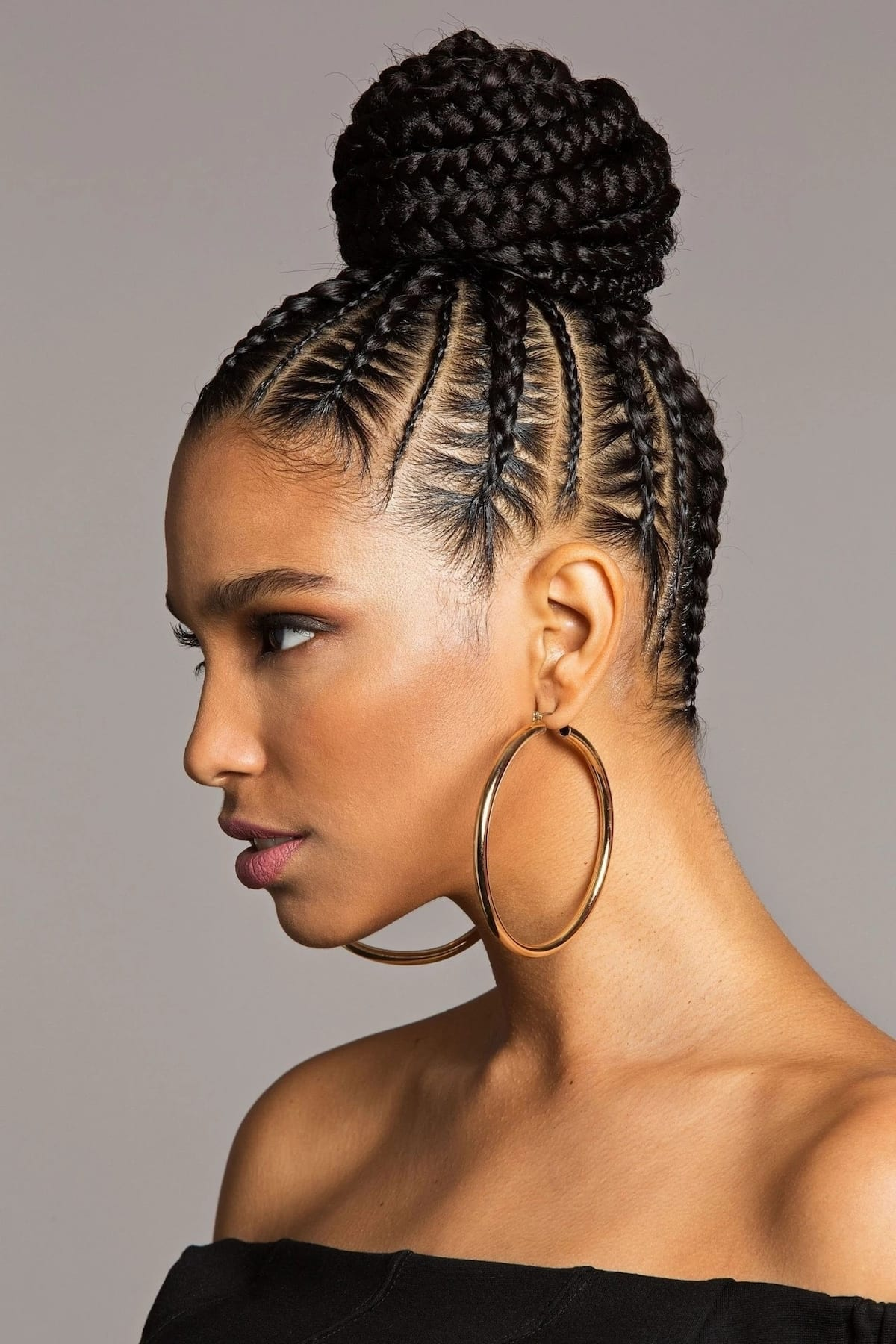Braided Hairstyles for Short Hair Black braided hairstyles for short hair Pictures of braided hairstyles for short hair