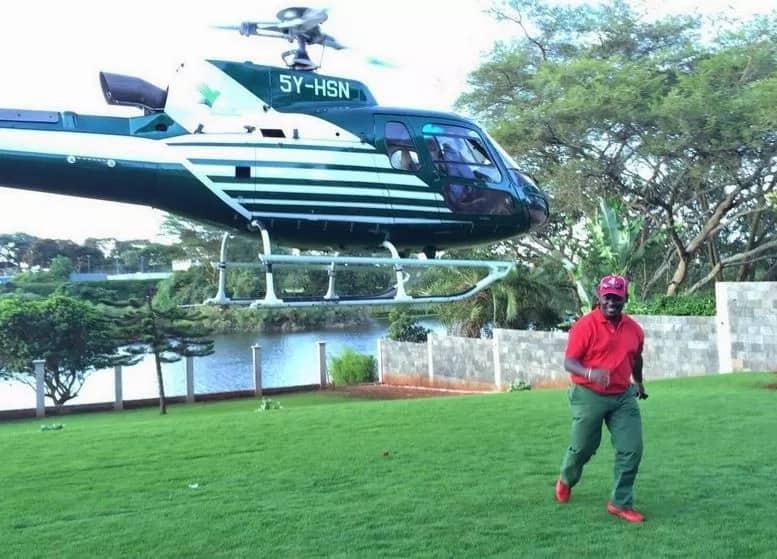 Did William Kabogo work as driver for Harun Mwau?