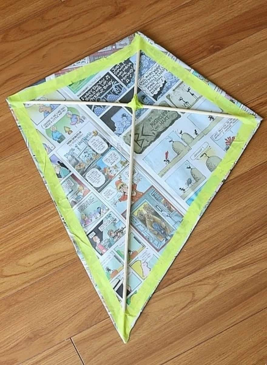 simple kite making guide, make a kite from paper, how to make a kite