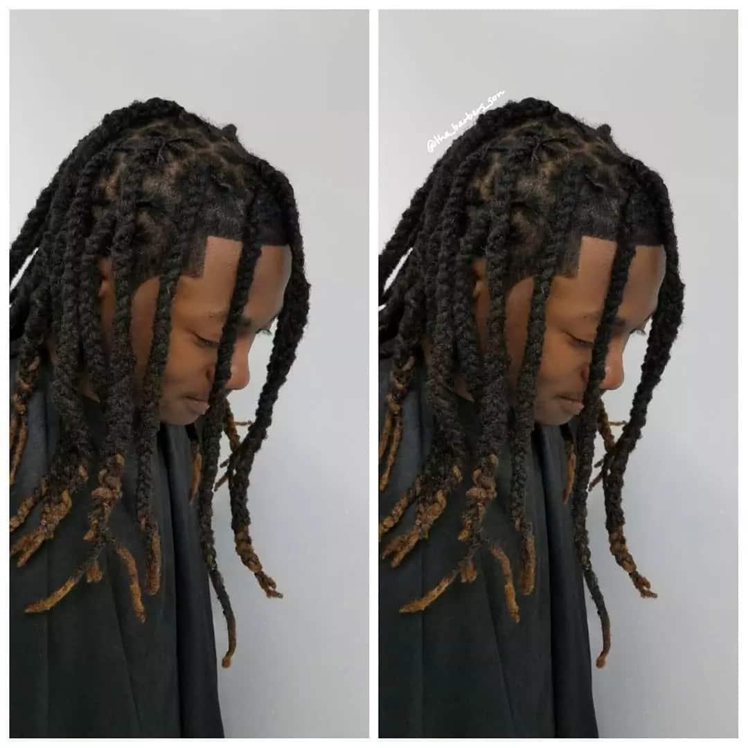 Latest dreadlocks hairstyles for guys
