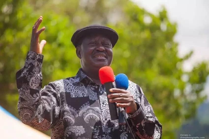 Raila Odinga.