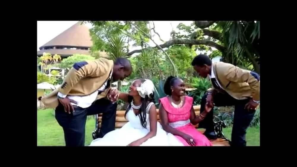Wilberforce Musyoka wedding