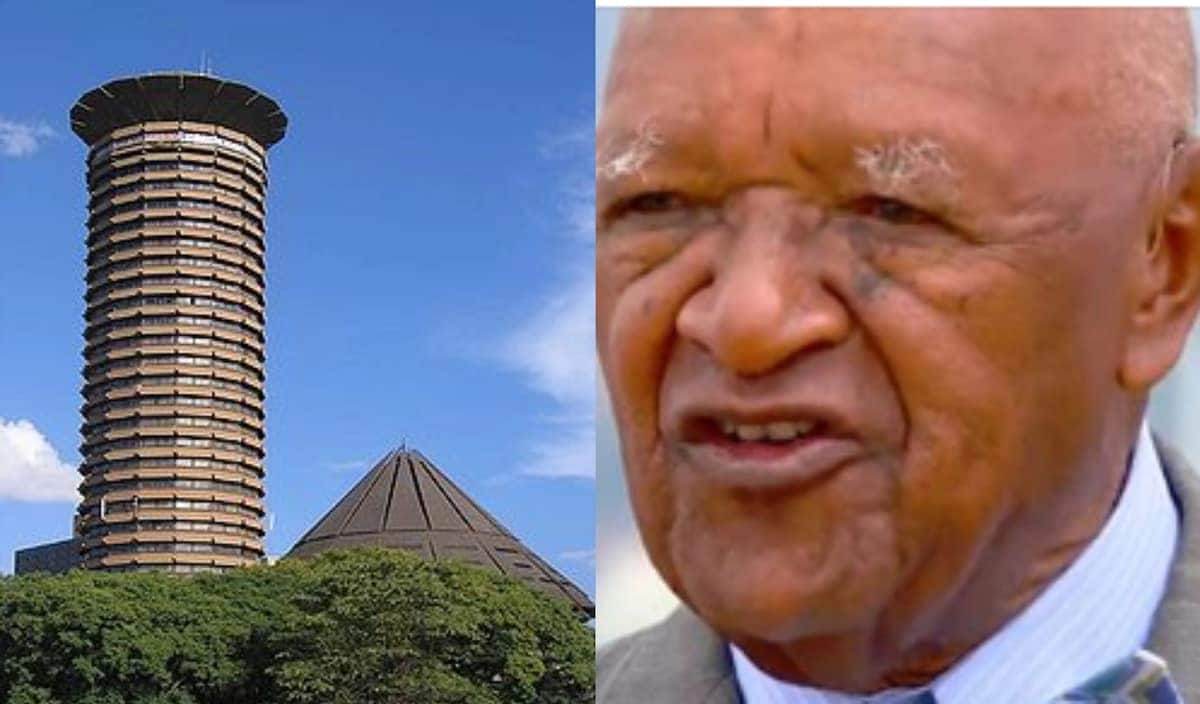 Architect who designed iconic KICC building says it was to look like donkey's penis