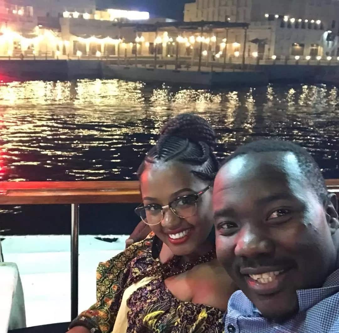 9 enviable photos of Citizen TV's Willis Raburu and wife celebrating 1st anniversary in Dubai