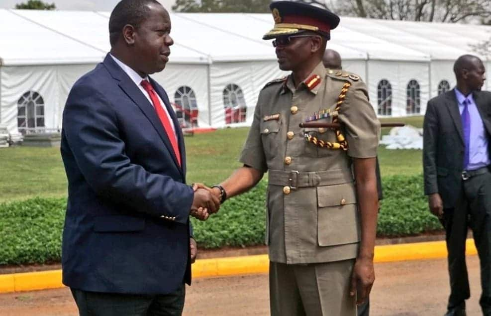 Interior CS Fred Matiang'i directs mandatory paramilitary training for deputy county commissioners and chiefs