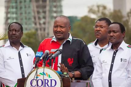 It's voters who will decide whom they want between Ruto and Gideon Moi - Kanu secretary general