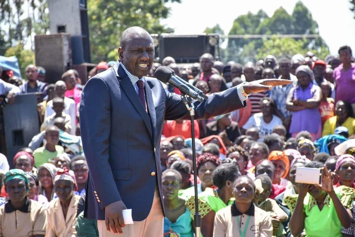 Ruto leaves opponents guessing, says he'll support a referendum