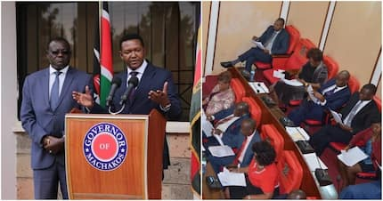 Machakos Governor unveils new team, disregards county assembly