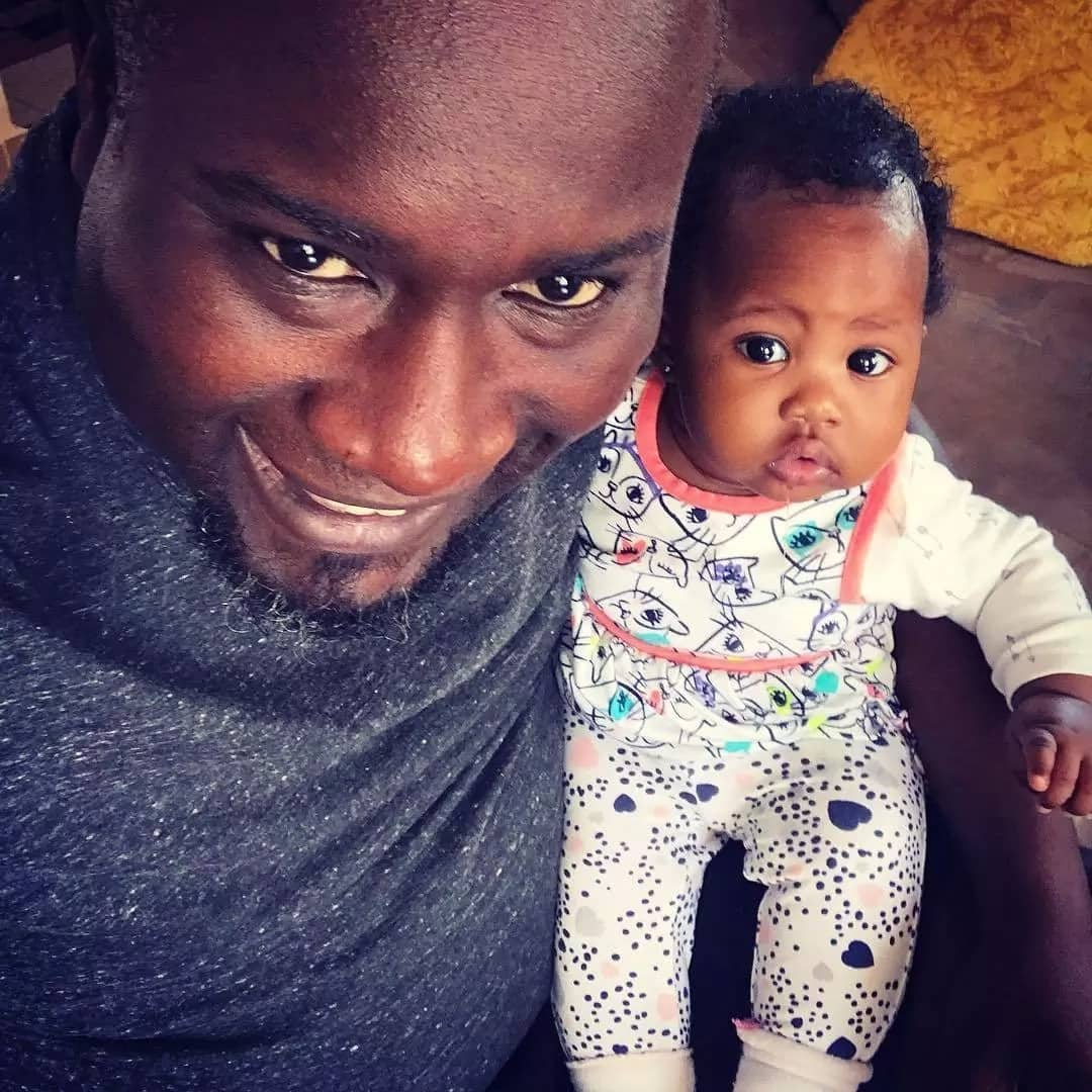 16 absolutely delightful photos of Tedd Josiah and his 6-month-old daughter months after his wife's death