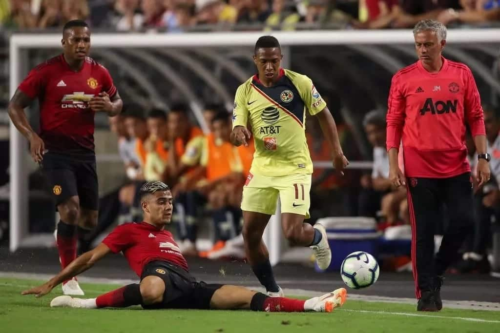 Club America force Manchester United to 1-1 draw in first preseason encounter