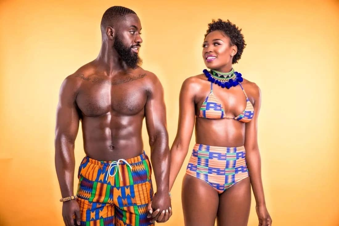 Best African print swimsuit designs
