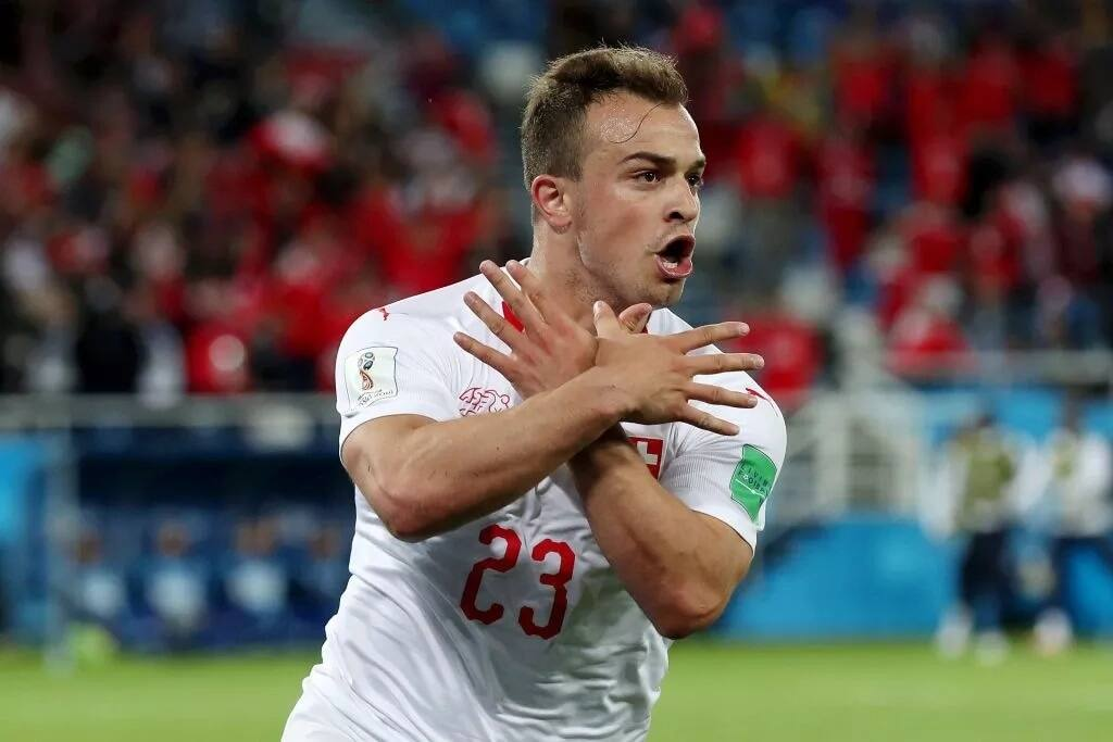 Switzerland defeat Serbia in second Group E game at Russia 2018