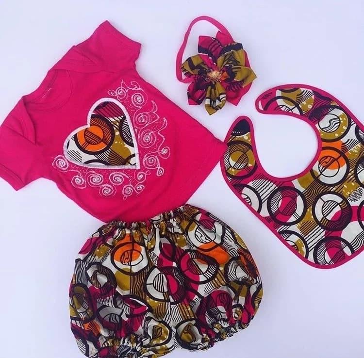 Latest Kitenge designs for babies