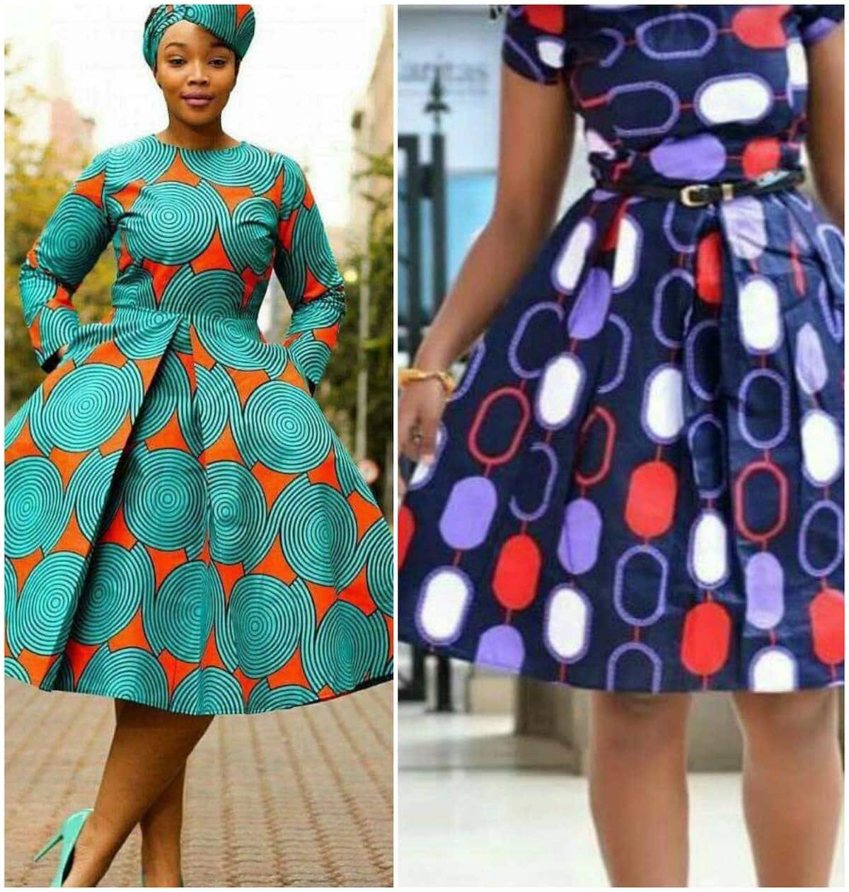 African Print Fancy Maternity Dresses: Nice Formal African Print Dresses Styles Tuko.co.ke