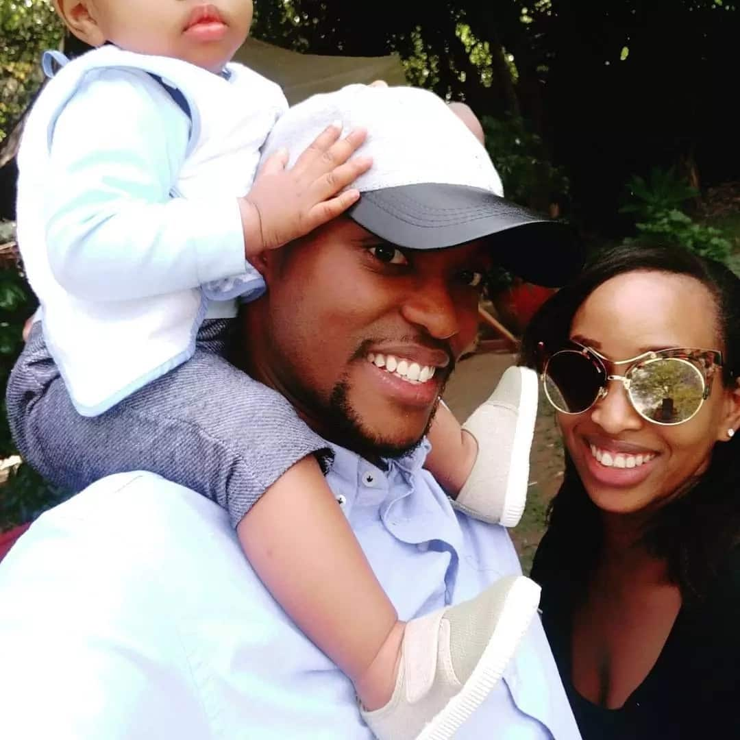 Citizen TV's Janet Mbugua shows off her son's face for the first time