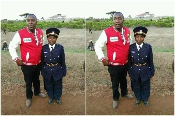 SHORTEST police officer IN KENYA leaves many with questions than answers (photos)