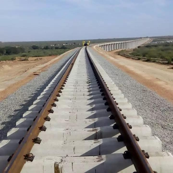 The never seen before amazing plan of the Standard Gauge Railway