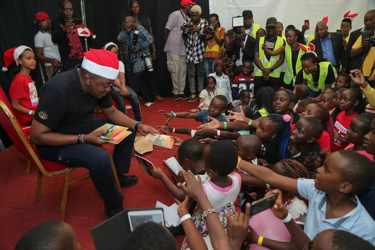 Its early Christmas at State House as it hosts children from various children homes