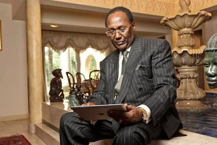 You cannot spend half your years in school and have no money making ideas - Chris Kirubi