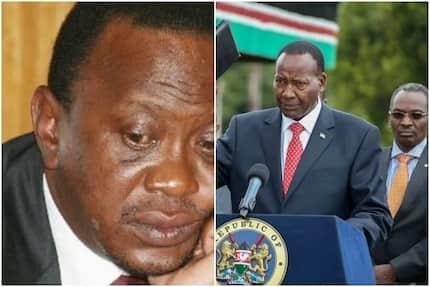 """Uhuru Kenyatta aandamana na """"Mgeni Maalum"""" akiitembelea familia ya Marehemu Nkaissery"""