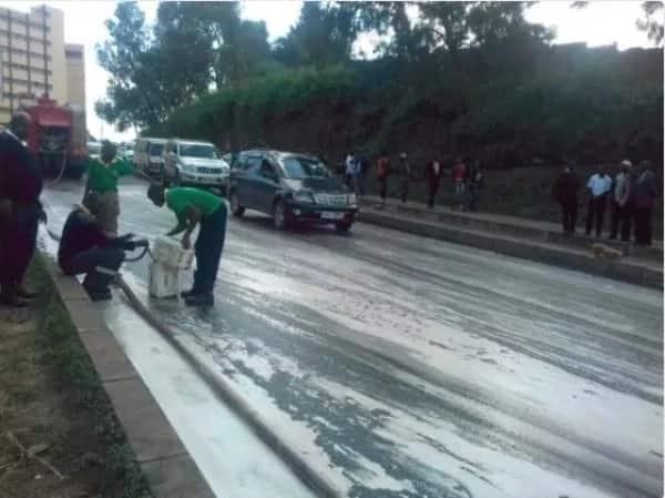 Boda boda wasababisha hali ya mshikemshike katikati mwa Jiji la Nairobi