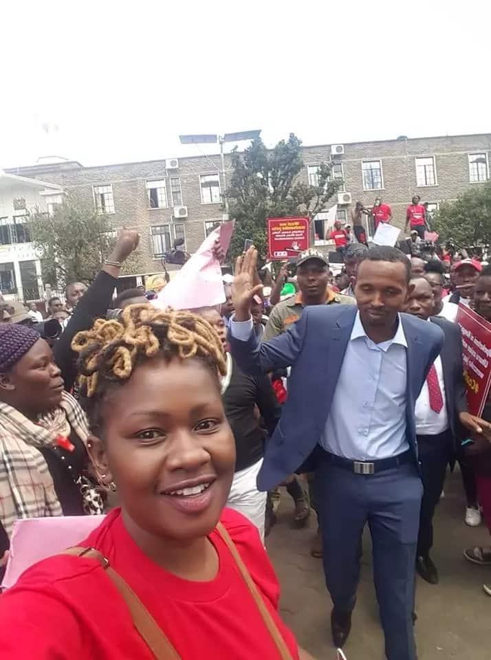 Waandamanaji dhidi ya ufisadi wamshambulia Moha Jicho Pevu kwa kushirikiana na Ruto