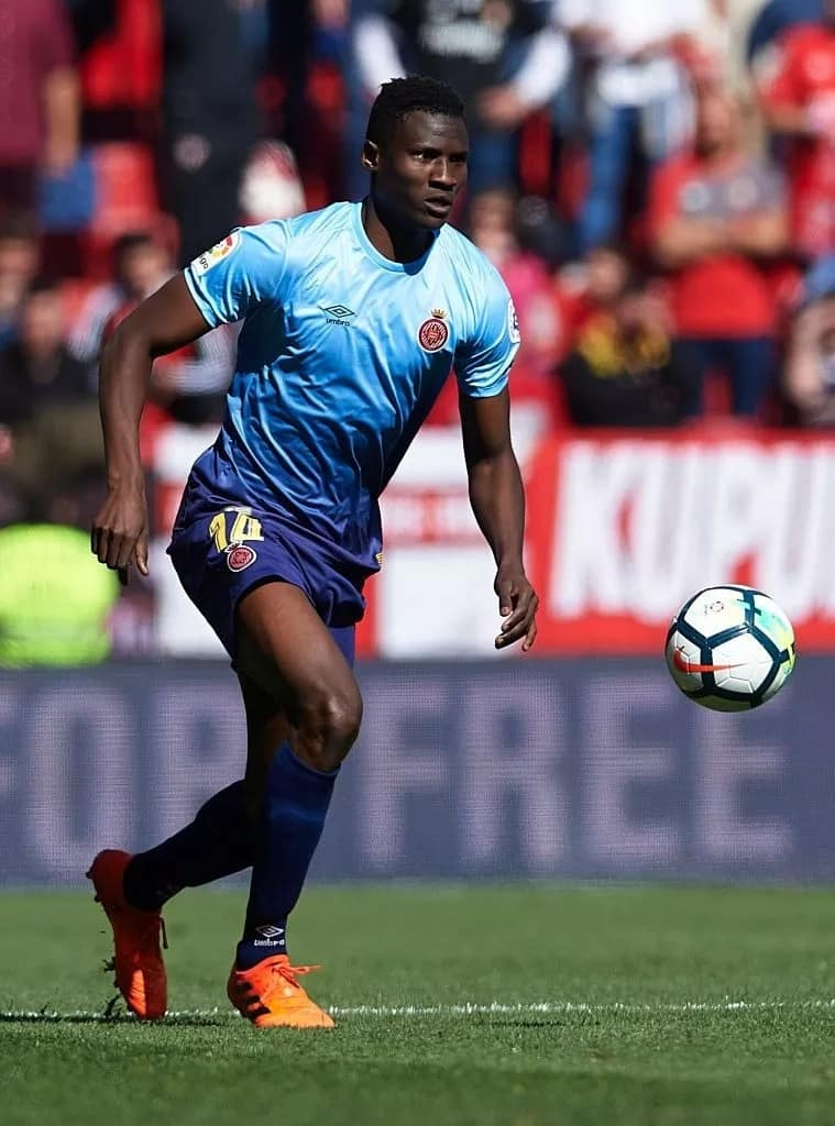 Harambee Stars striker Michael Olunga looks to join Victor Wanyama in the English Premier League