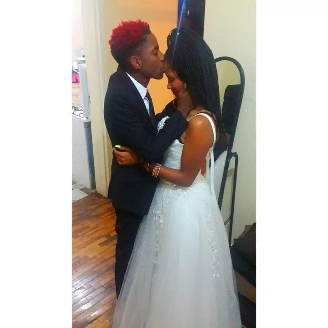 Eric omondi and his wife