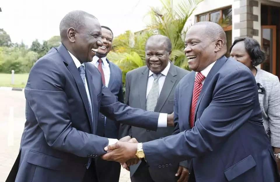 NASA MPs from Western meet William Ruto, commit to work with government