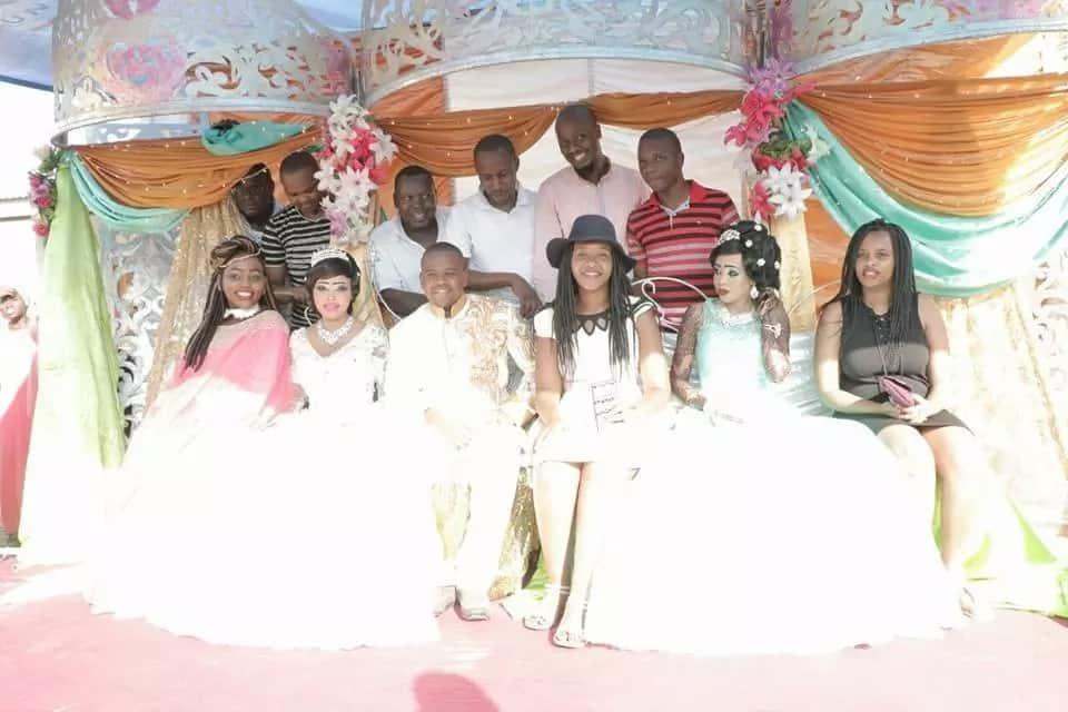 KTN presenter in colourful wedding