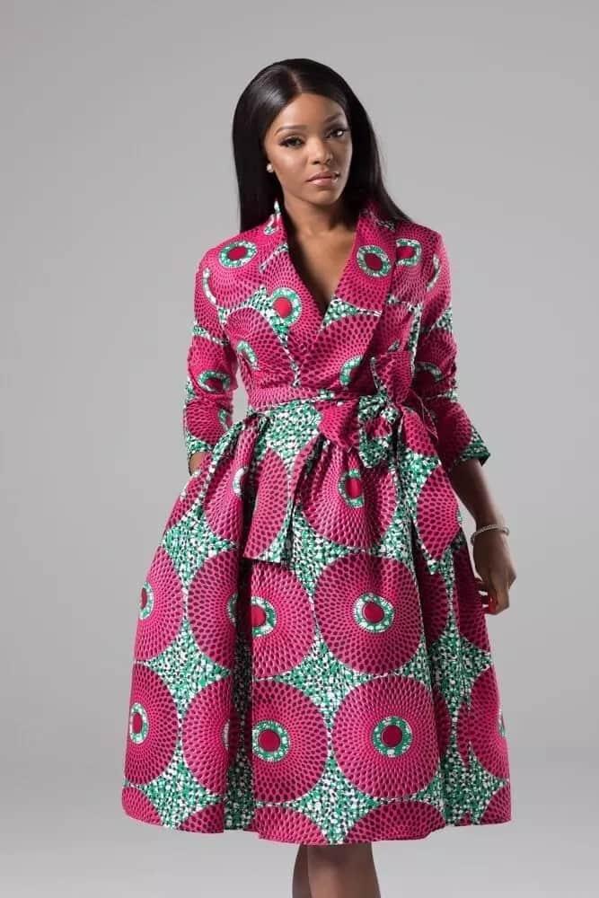 Modern African Print Dresses 2018 Tuko Co Ke