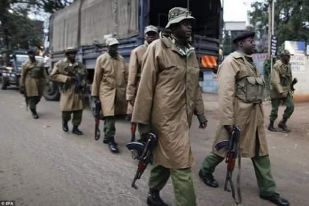 Senior officer arrested for stealing police jungle rain coats