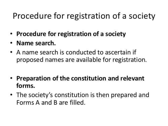 """Registrar of Societies in Kenya"