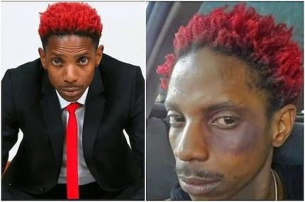 Eric Omondi akemewa na mashabiki baada ya kutembea uchi wa mnyama