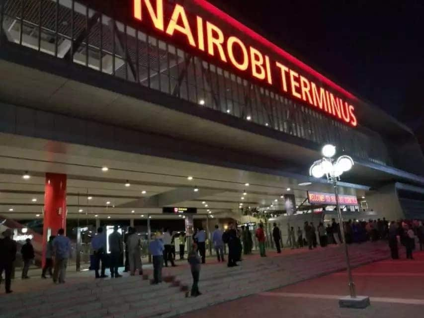 New SGR train schedule in Kenya