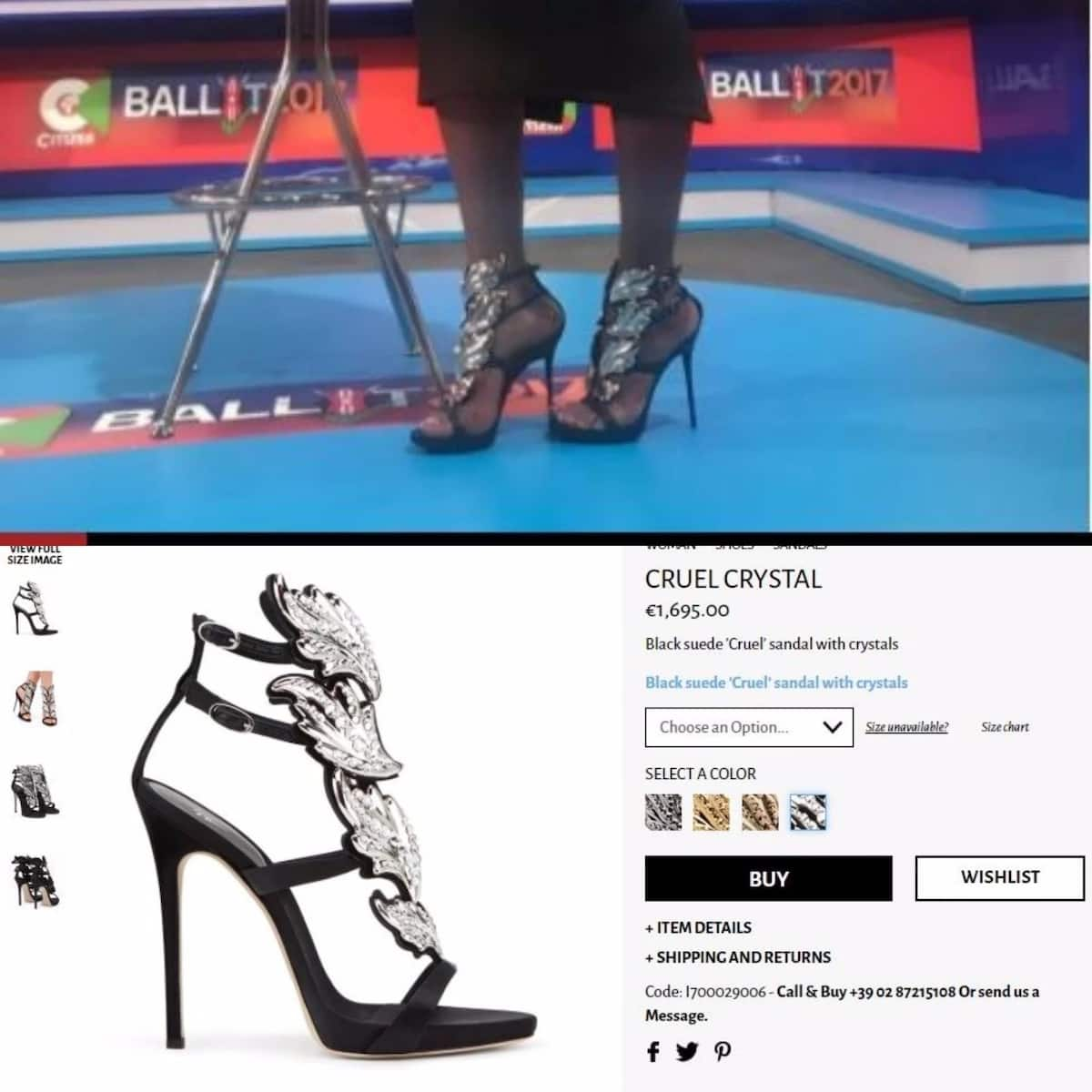 Citizen TV's Lillian Muli steps out in a pair of designer shoes worth KSh 160,000