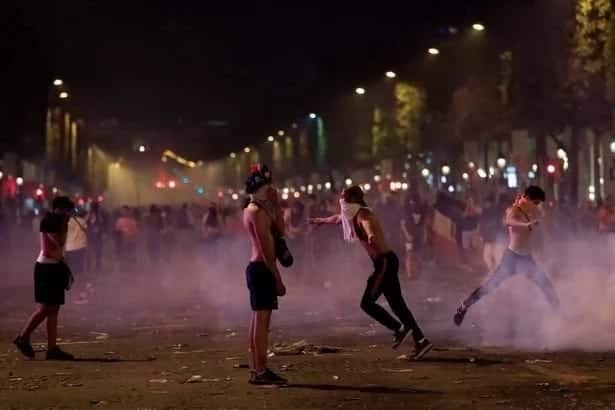 Tragedy as two French fans die while celebrating France's win over Croatia in the 2018 World Cup