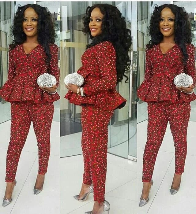 Ankara pants styles for ladies