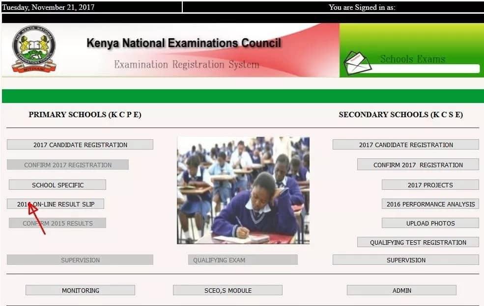 KNEC portal in Kenya - registration, results and guides
