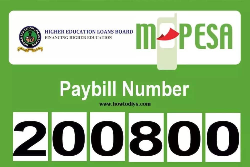 HELB M-pesa paybill number