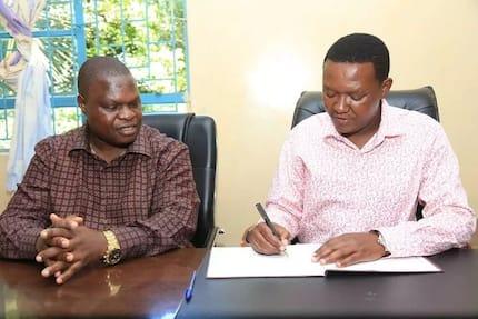 Alfred Mutua, Kisii deputy governor narrowly escape death as bridge collapses in Kisii