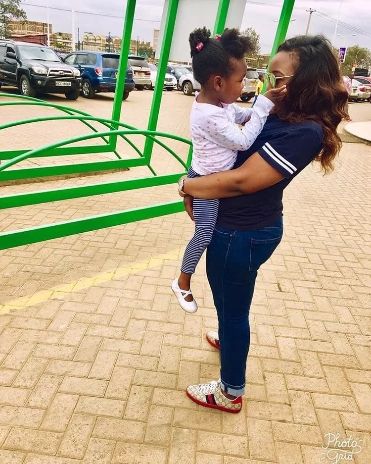 Betty Kyalo daughter