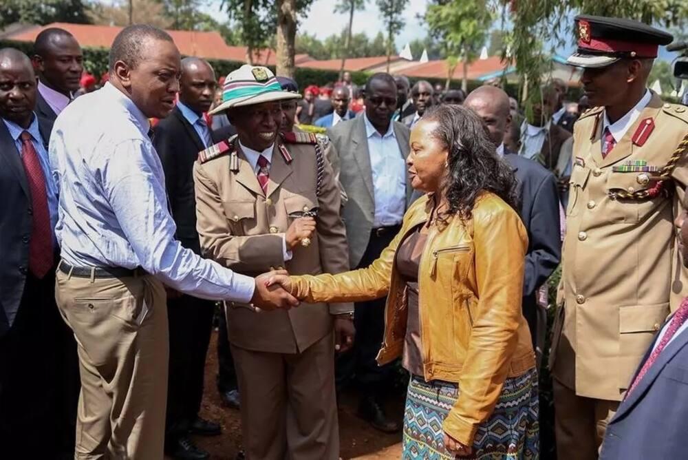 Photos that prove President Uhuru Kenyatta enjoyed working with Ann Waiguru