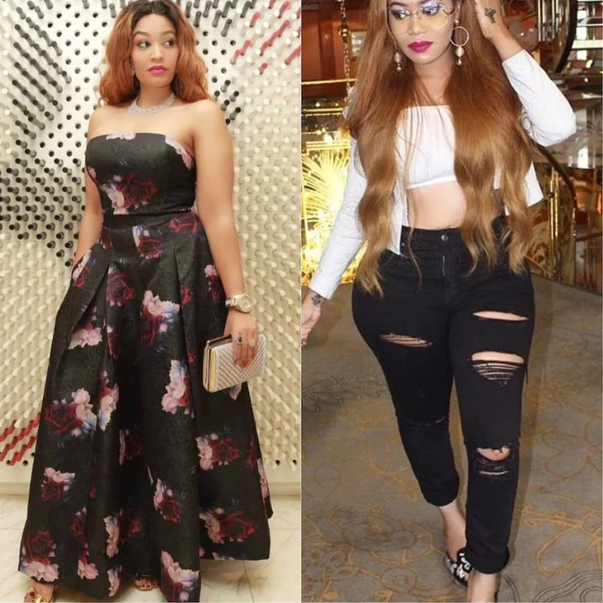 X extremely identical photos which prove Vera Sidika and Zari Hassan are sisters from different mums