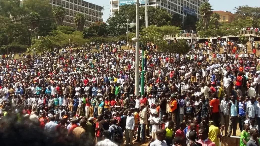 Live Update: Raila Odinga's swearing-in