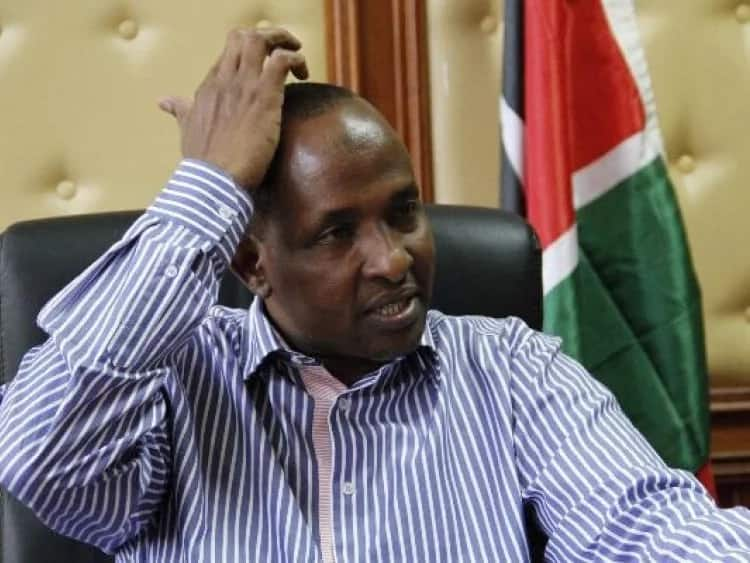Come out of my skirt and tell the world what you did to me - Duale's ex-lover