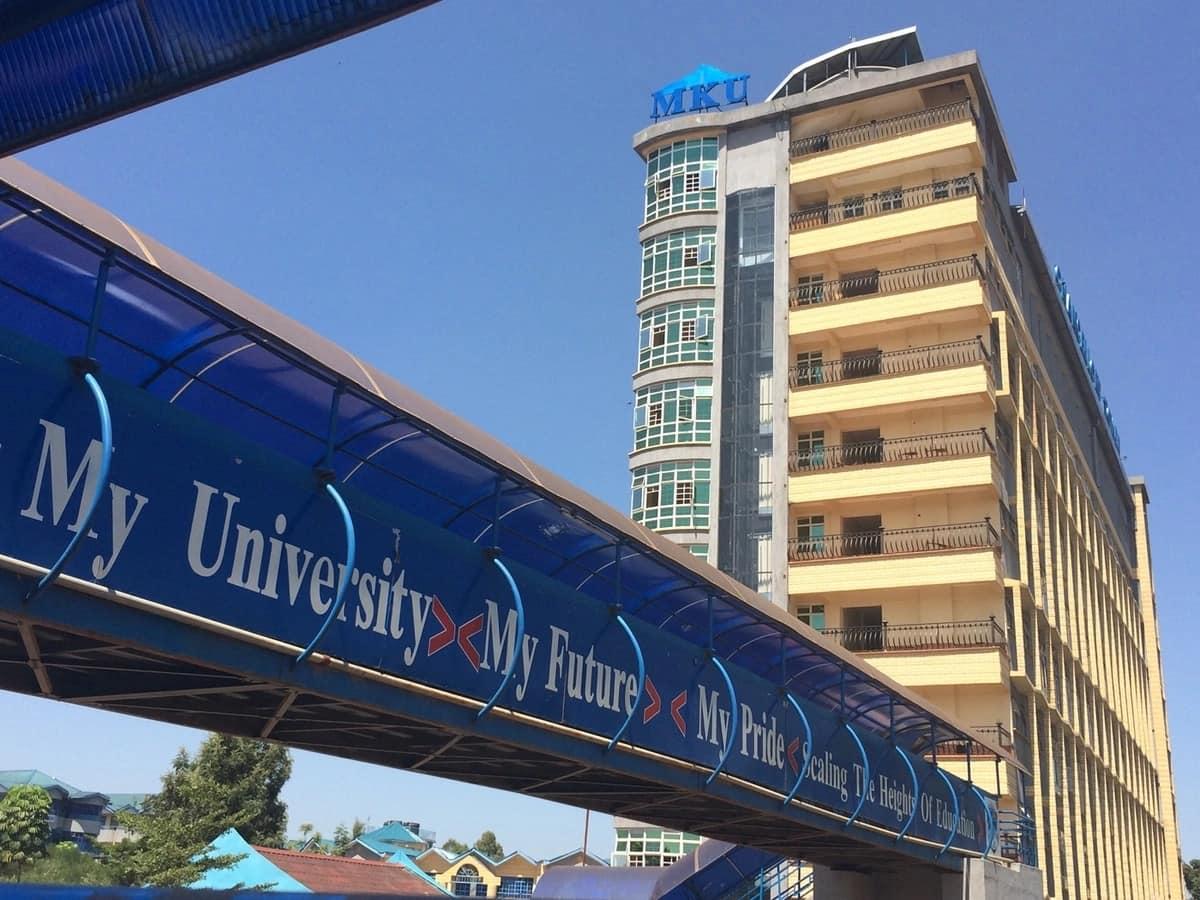 Mount kenya university diploma courses list