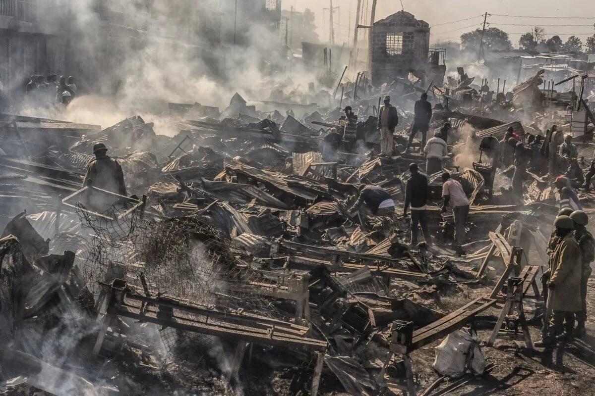 Families start identifying bodies of Gikomba fire tragedy