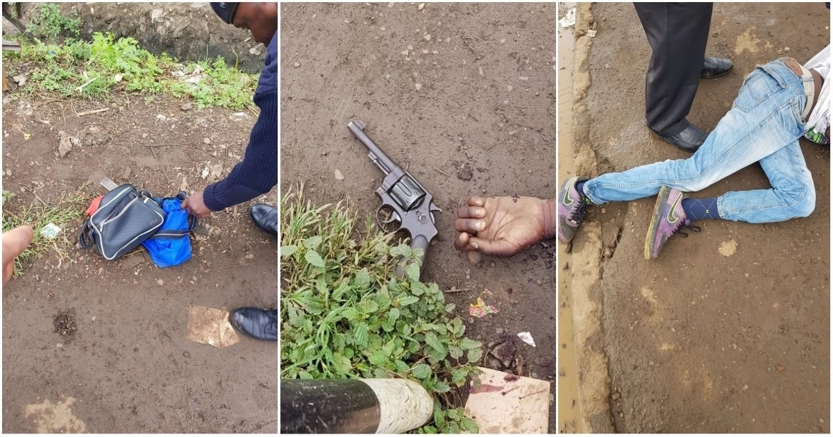 Police officers shoot dead Nairobi's most wanted criminal