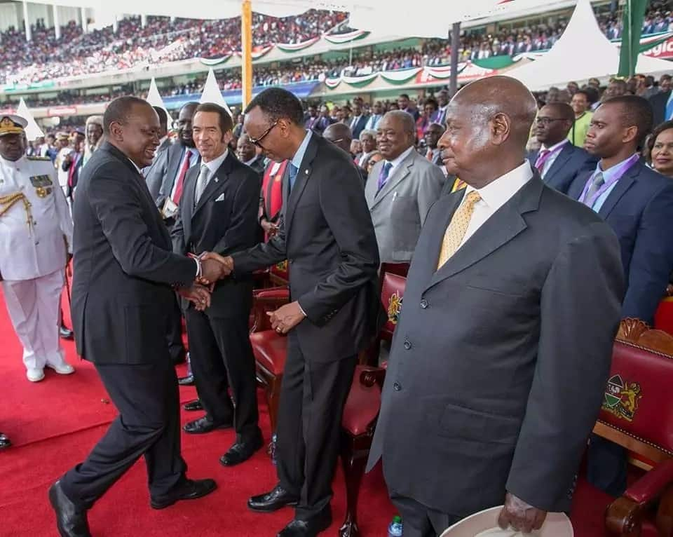 Picha 14 nzuri zaidi zilizopigwa wakati wa kuapisha kwa Uhuru Kasarani